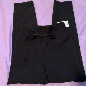 Small black woven Fashion Nova pants